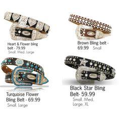 http://www.therusticshop.com/?store=LoneStarRustic #Rhinestone #Belt