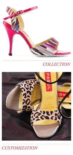 Scarpe #Paoul personalizzate - 106_100/3 camoscio stampato, leopardo rosa, capretto viola ----- Customized Paoul #shoes - 106_100/3 pink leopard printed suede, violet kid ----- #womenshoes #danceshoes #dancingshoes #dance