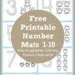 Number Coloring Printables