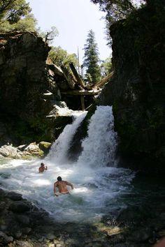 Klamath River Waterfall- Northern California
