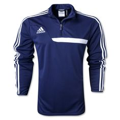 adidas Tiro 13 Navy Blue Training Top - model Z21120 - only $53.99 Soccer Gear, Youth Soccer, Training Tops, Soccer Training, Soccer Warm Ups, Navy And White, Navy Blue, Soccer Players, Champions League