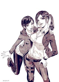 Claire and moire can't wait until revelations 2