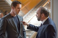 Paul Giamatti and Damian Lewis star in upcoming series Billions.