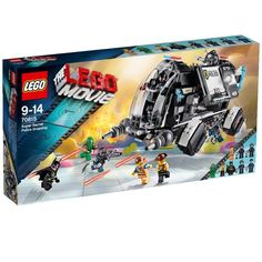 LOWEST EVER AMAZON PRICE The Lego Movie 70815: Super Secret Police Dropship NOW £48 delivered