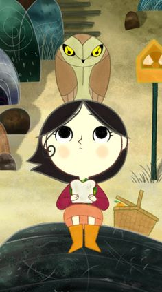 song of the sea - saoirse and owl