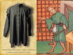 XV century robe  medieval clothing