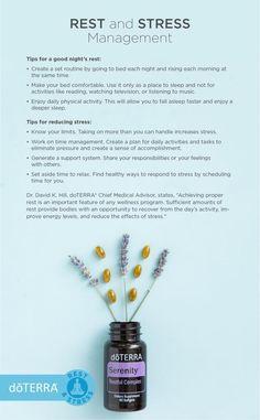 DoTERRA rest and stress management Helichrysum Essential Oil, Citrus Essential Oil, Citrus Oil, Essential Oil Blends, Stress Management, Elixir Floral, Doterra Serenity, Essential Oils For Sleep, Doterra Essential Oils