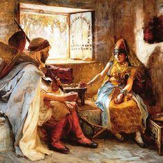 Frederick Arthur Bridgman 1885 #algerie #algeria #الجزائر #الجزائر_قبل_مئة_سنة #histoire #art #artiste #artistic #paint #painting #oilpainting #peinture #tableau #art #beauxarts #artofinstagram #artwork