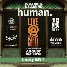 Joell Ortiz Live At Santos Party House With Rav. P Aug 26th 2015 | SPATE The #1 Hip Hop News Magazine Music and News Blog