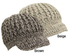 Free crochet pattern 574 roll brim hat lion brand yarn company