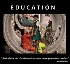 Teachers: guardians of society's soul
