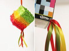 Kleenex Box Piñata   20 Ways to Make a Piñata