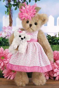 Prim & Proper - 14 Inch Spring 2012 Collectible Teddy Bear