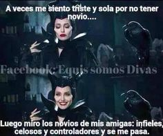 jajajaja Better alone than in bad company Better Alone, Epic Movie, Disney Memes, Just Smile, Just For Laughs, Maleficent, Friends Forever, Cute Drawings, Law Of Attraction
