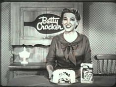 """""""Betty Crocker Marble Cake Mix"""" (1958 Commercial)"""