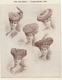 Hats 1906 by janwillemsen, via Flickr