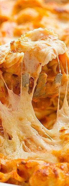 Cheesy Baked Tortellini Recipe | Brown Eyed Baker