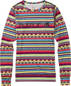 Burton Womens Midweight Crew Top Mixtec Medium *** You can find out more details at the link of the image.(This is an Amazon affiliate link and I receive a commission for the sales) #WomensActivewear