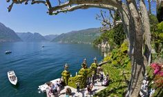 Villa Balbianello on Lake Como. To see a bigger picture, click on magnifying glass. Photograph: Alamy
