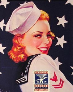 USO Girl- Keeping up morale