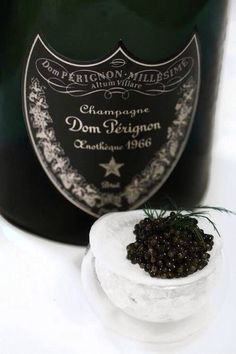 caviar and champagne ..