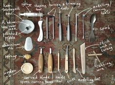 pottery tools -