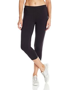 Hanes Women's Stretch Jersey Capri, Black, XX-Large   Special Offer: $10.00      477 Reviews Wear these versatile stretch jersey capri pants when you're running errands or at the gymSoft cotton stretch jersey with a touch of spandex for move-with-you comfortHeavier fabric weight...