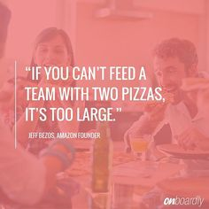 How many pizzas does it take to feed your team? Startup Quotes, Teamwork, A Team, Awesome, Amazing, Entrepreneur, Management, Photo And Video, Movie Posters