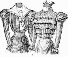 History of 1890s Fashion | 1890s Fashion Scans