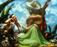 pinturas-mexicanas, Jesus Helguera