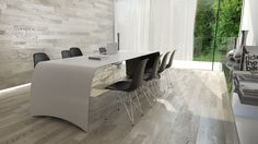 FLOYD is a diningtable or desk made of carbon fiber, Kevlar, structural foam and stainless steel. Furniture Making, White Tops, Carbon Fiber, Matte Black, Furniture Design, Desk, Home Decor, Carbon Fiber Spoiler, Homemade Home Decor