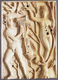 Apollo and Daphne, V BCE. Museo Nazionale, Ravenna. Culture roman