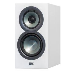 Elac: Uni-Fi BS U5 Slim 5 1/4 Bookshelf Speakers - White (BSU5-SW)