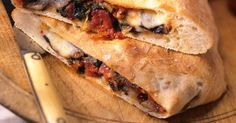 Vegetable and Calabrese Salami Calzone Pizza Recipes, Cooking Recipes, Calzone Recipe, Pizza Dough, Mozzarella, Great Recipes, Stuffed Mushrooms, Pizza, Tomatoes