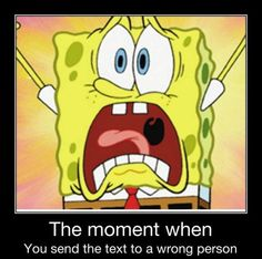 The moment when...