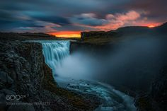 """Dettifoss at Sunset Go to http://iBoatCity.com and use code PINTEREST for free shipping on your first order! (Lower 48 USA Only). Sign up for our email newsletter to get your free guide: """"Boat Buyer's Guide for Beginners."""""""