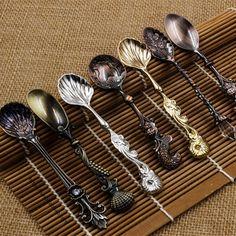 4-шт-старинные-Королевский-стиль-маленькая-кофейная-ложка-золото-серебро-столовые-приборы-столовые-приборы-я-десертная.jpg (800×801)