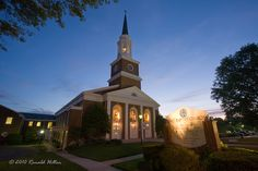 This is the church me and my family attended as I was growing up as a young boy. Chapel Hill, Alexandria Virginia, United States, Building, Places, Photography, Travel, Photograph, Viajes