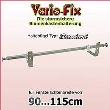 Bild: Vario-Fix Blumenkastenhalter-VFS1290, auf Fensterbänke
