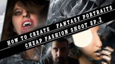 How to create  Fantasy portraits of a werewolf- CheapFashionShoot