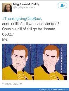 ThanksGivingClapBack