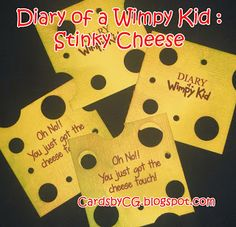 Jeff Kinney Diary of a Wimpy Kid : The Cheese Touch School Hols, Book Character Pumpkins, Escape Room For Kids, Wimpy Kid Books, My Son Birthday, Birthday Ideas, Kids Book Club, Author Studies, Book Projects