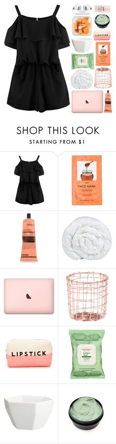 """""""BARCELONA"""" by vanilla-chai-tea ❤ liked on Polyvore featuring H&M, Aesop, Brinkhaus, Dot & Bo, Forever 21, Burt's Bees, CB2 and philosophy"""