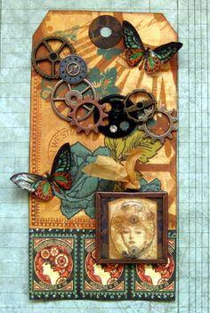 Card: Steampunk Tag