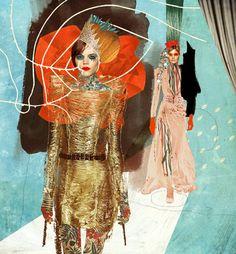 BECHA x Elle Magazine Editorials #collage #illustration #graphic #editorial