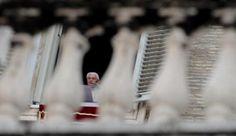 Pope Benedict XVI celebrates his Sunday