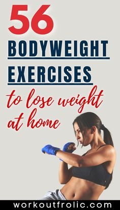 The 56 very best bodyweight exercises divided into categories - upper-body bodyweight exercises, lower-body bodyweight exercises, bodyweight ab exercises, and full-body bodyweight exercises. Everything you need in a complete list to assemble your very one bodyweight workouts for every day of the week. #bodyweightexercises #bodyweighttraining #homeworkout List Of Bodyweight Exercises, Bodyweight Upper Body Workout, Functional Workouts, Body Weight Training, Lose Weight At Home, Stay In Shape, Muscle Groups, You Fitness, Full Body
