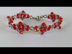 Beautiful bracelets for the loved one in your life. Beaded Bracelets Tutorial, Bead Loom Bracelets, Beaded Bracelet Patterns, Woven Bracelets, Handmade Bracelets, Beading Patterns, Handmade Jewelry, Beaded Jewelry Designs, Bead Jewellery