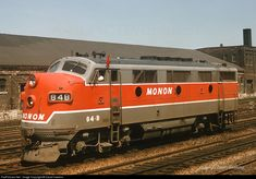 RailPictures.Net Photo: MON 84B Monon EMD F3(A) at Chicago, Illinois by David Hawkins