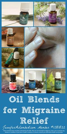 Oil Blends for Migraine Relief...and why some oils work for me and not for you